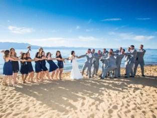 Lake Tahoe Resort Hotel Wedding